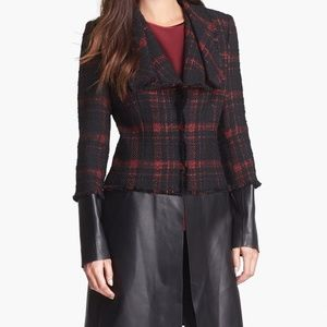 Lafayette 148 New York Jackets & Coats - 🔥 HOST PICK Lafayette 148 NY Tweed & Leather Coat
